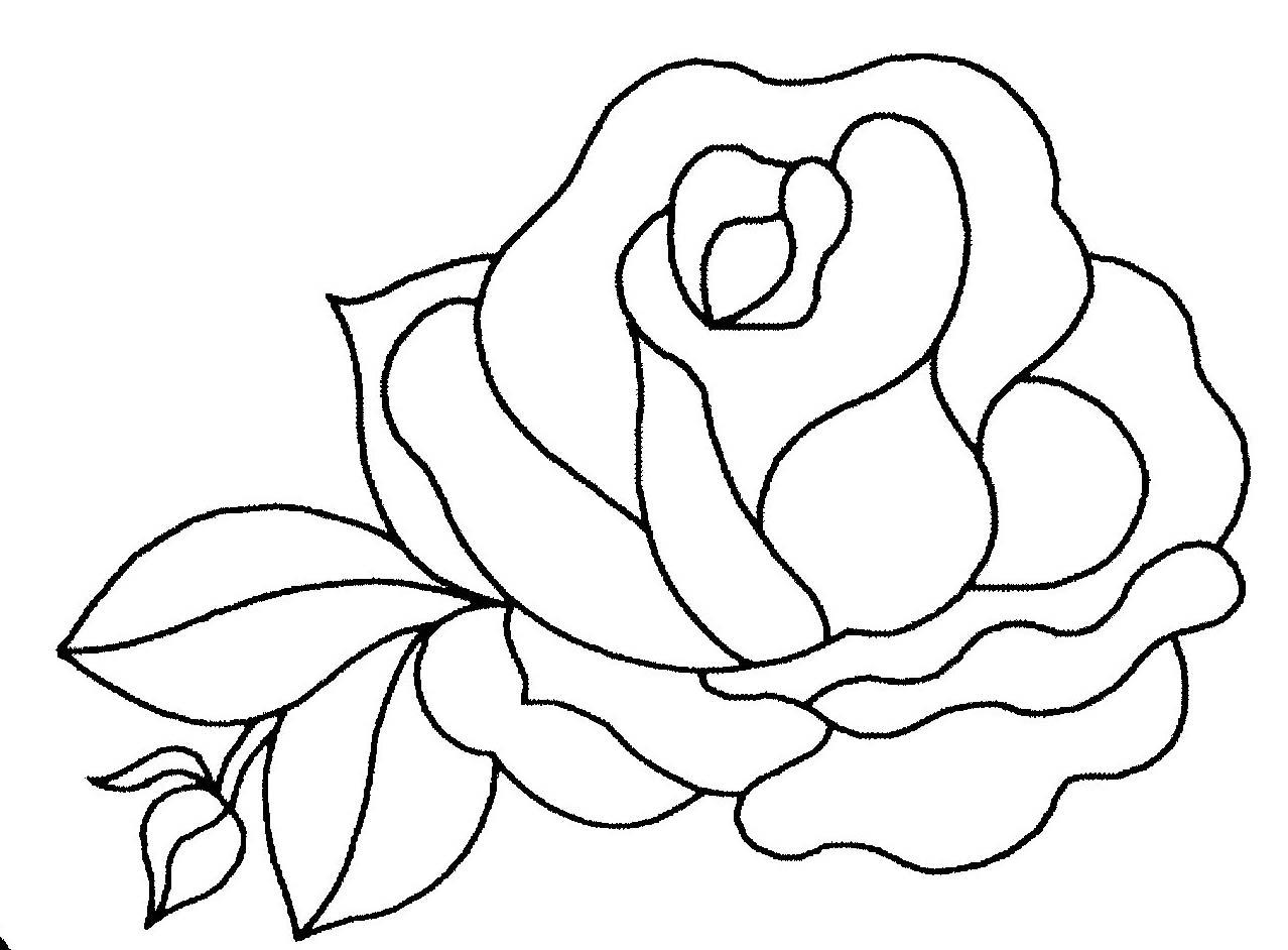 57 dibujos de Rosas para colorear | Oh Kids | Page 1