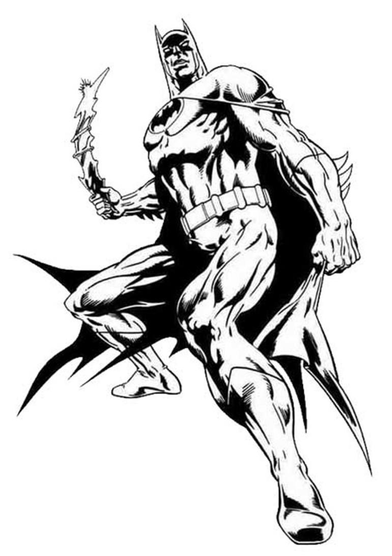 310 dibujos de Batman para colorear   Oh Kids   Page 16