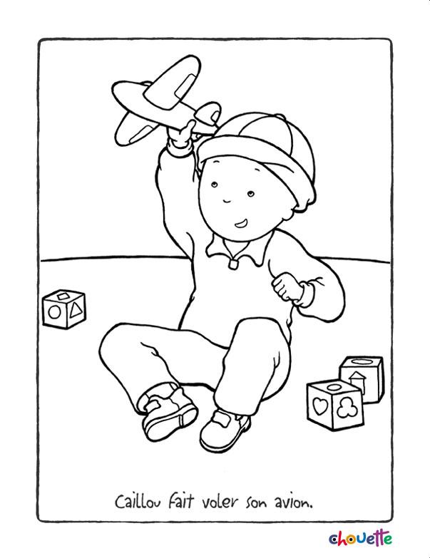 115 dibujos de caillou para colorear  oh kids  page 12