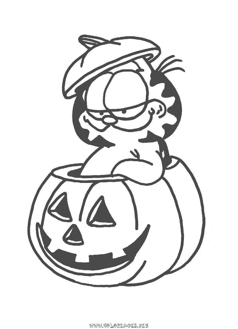 127 dibujos de Garfield para colorear   Oh Kids   Page 4