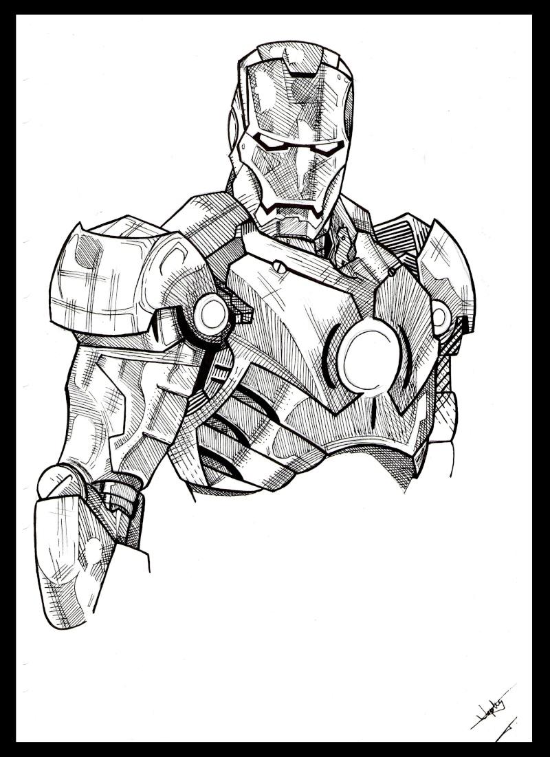 92 dibujos de Iron man para colorear | Oh Kids | Page 7