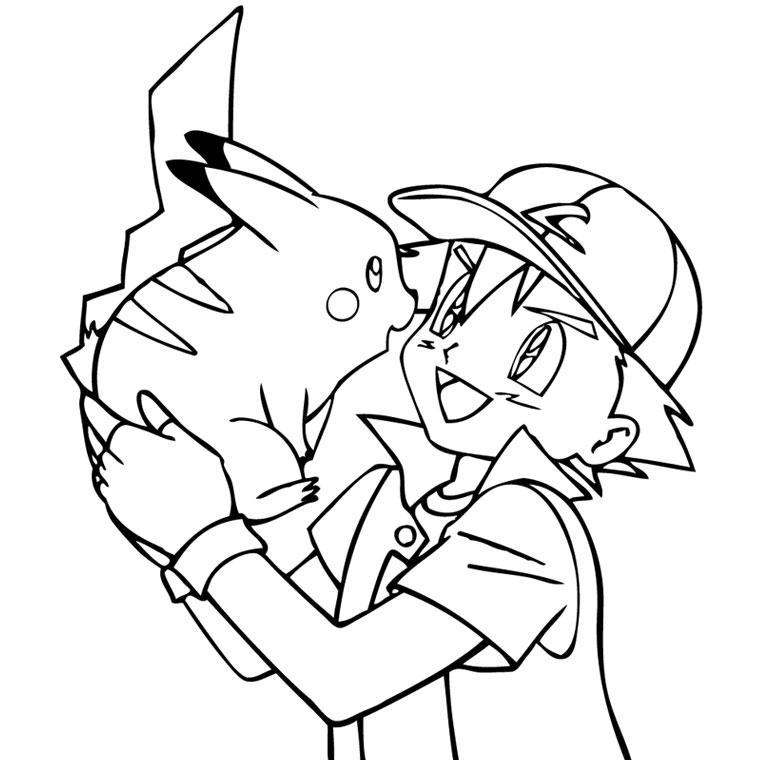 81 dibujos de Pikachu para colorear | Oh Kids | Page 7