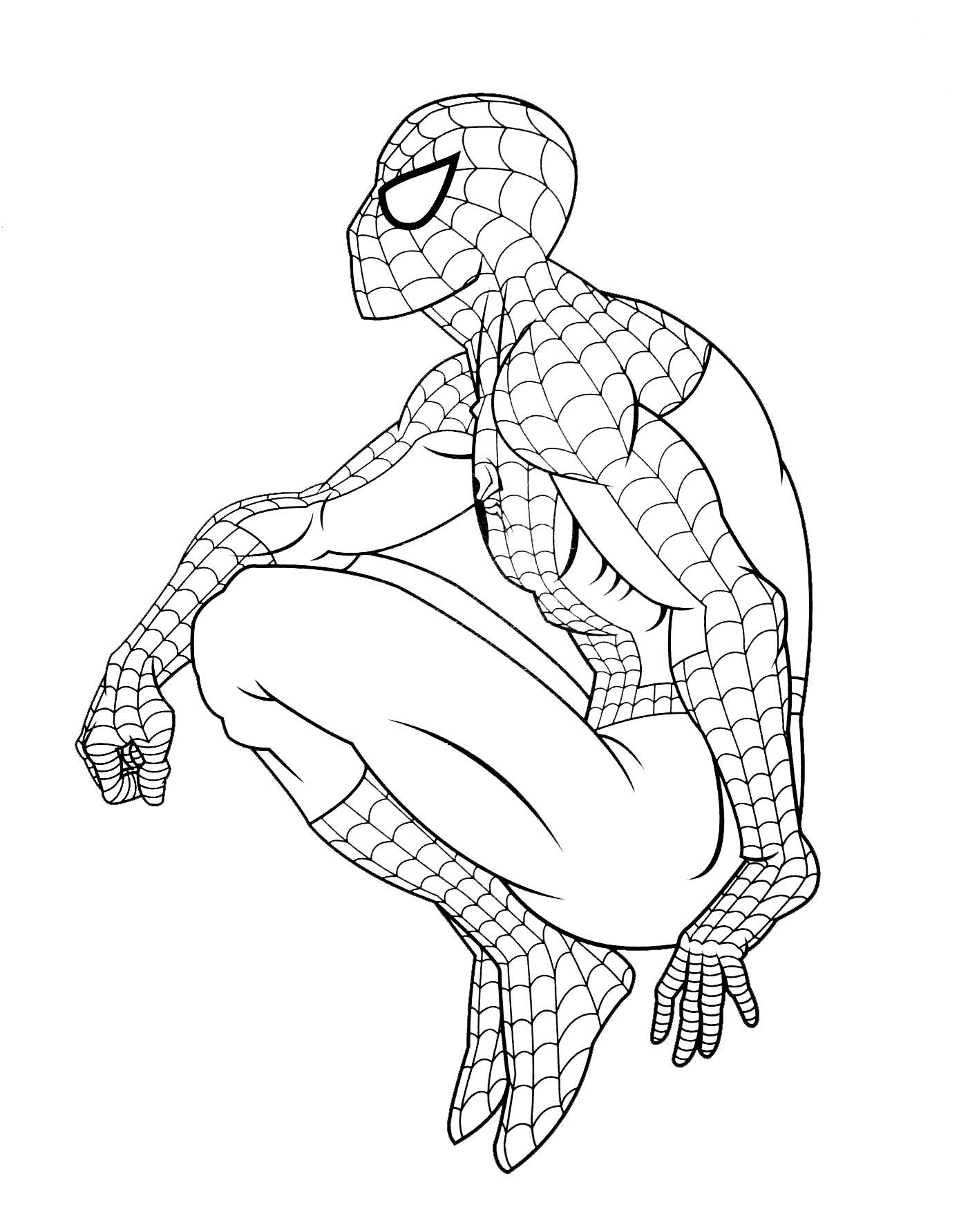 167 dibujos de Spiderman para colorear | Oh Kids | Page 15