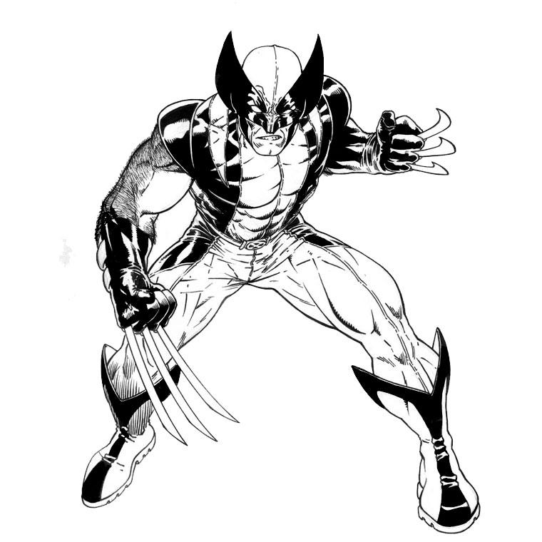 113 dibujos de X-men para colorear   Oh Kids   Page 9