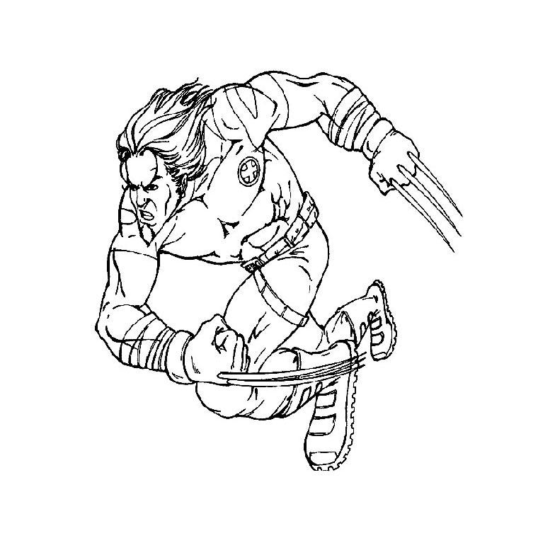 113 dibujos de X-men para colorear   Oh Kids   Page 11